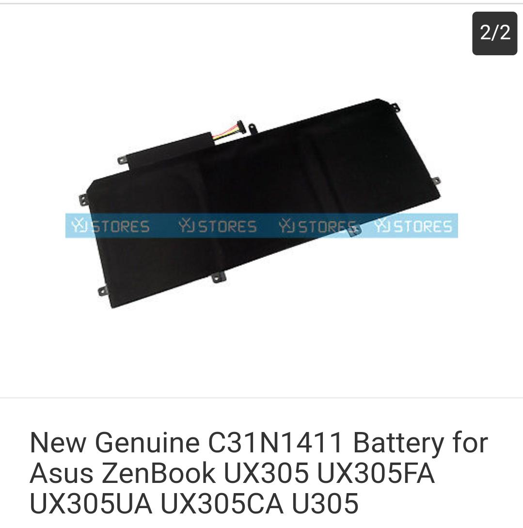 New Genuine C31N1411 Battery for Asus ZenBook UX305 UX305FA UX305UA UX305CA U305