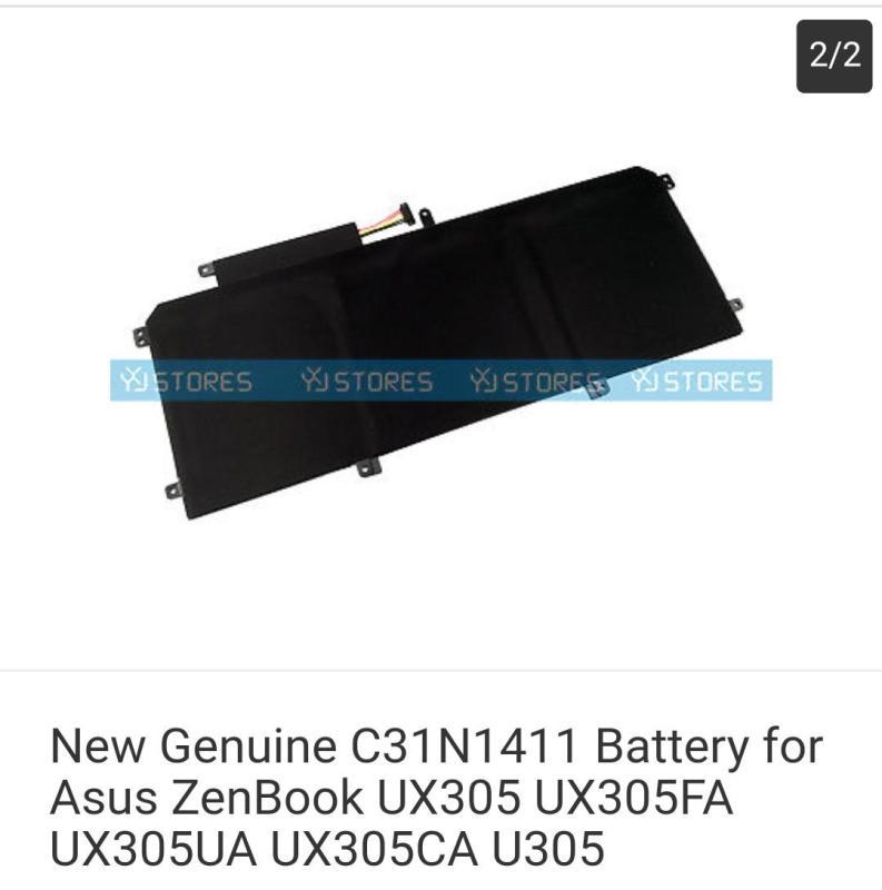 New Genuine C31N1411 Battery for Asus ZenBook UX305 UX305FA UX305UA UX305CA U305