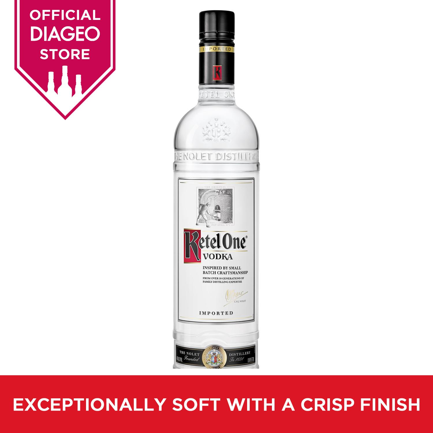 Ketel One Vodka 700ml By Diageo.