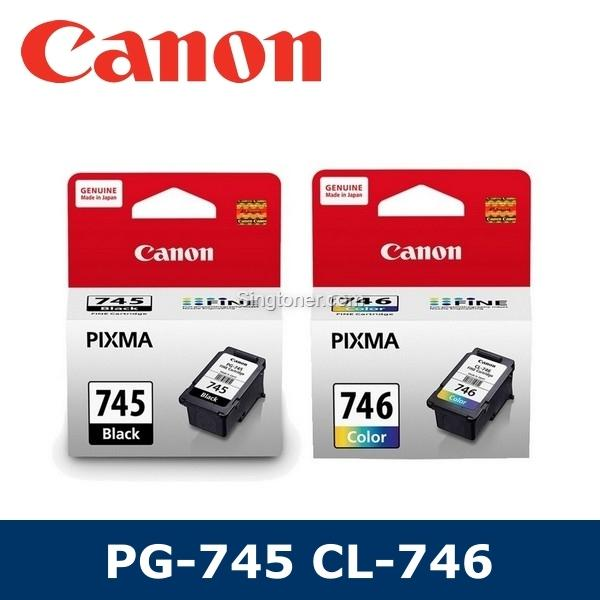 [original] Canon Pg-745 Cl-746 Value Pack For Ip2870 Ip2870s Mg247 Mg2570 Mg2570s Mx497 Mg2970 Ip2872 Mg2577s Mg3070s Tr4570s Pg745 Pg 745 Cl746 Cl 746 By Singtoner.