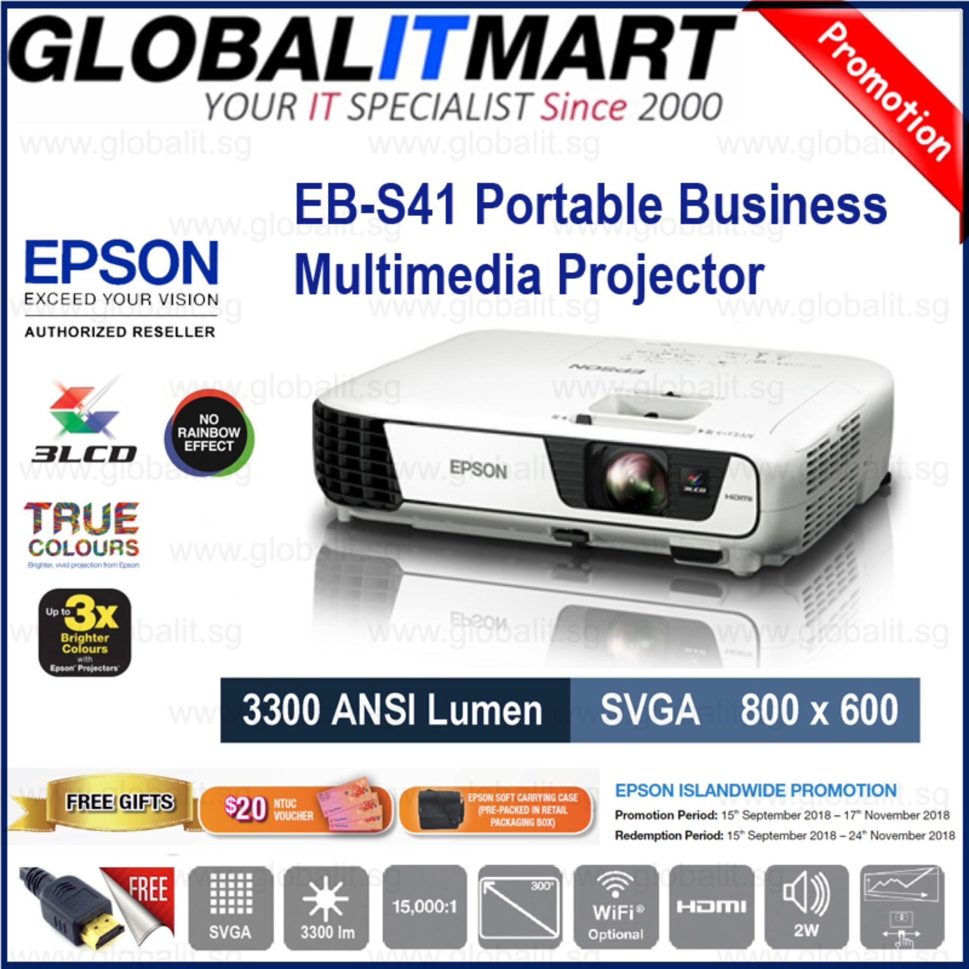 Buy Sell Cheapest Epson T252220 Best Quality Product Deals Ink Yellow C13t03y400 For L6170 Eb S41 Svga 800x600 3lcd Business Projector