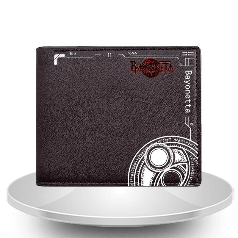 Bayonetta 2 Game Related Products Bayonetta2 bei yunegish ta Men's Length Wallet Joan of Arc Jeanne