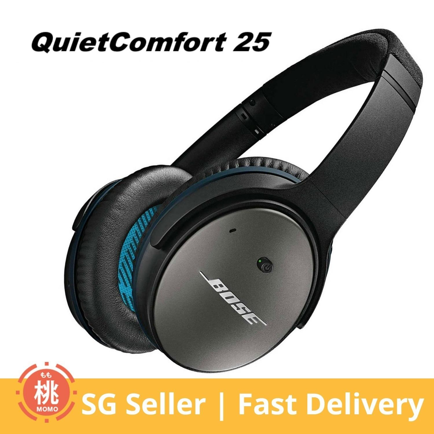 Sale Bose Quietcomfort 25 Acoustic Noise Cancelling Headphones Apple Devices Wired 3 5Mm Others Branded