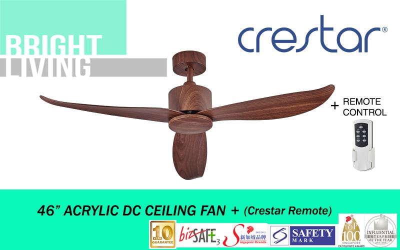 Crestar Valueair 46 Ceiling Fan With Remote Control