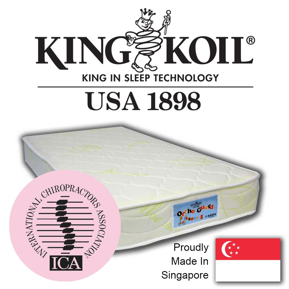 King Koil OrthoGuard 2 Dual Foam 4 Aloe Vera Mattress