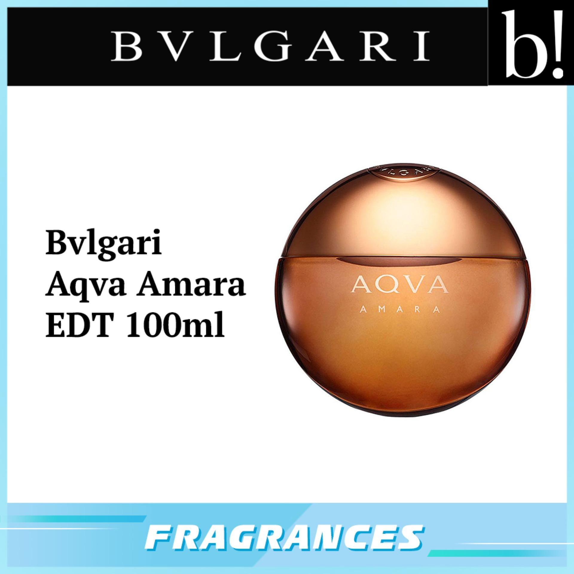 Buy Bvlgari Fragrance Eau De Toilette Lazada Parfum Singapur Man Singapore Aqva Amara Edt 100ml Beureka