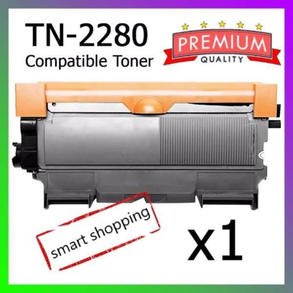 BROTHER TN2280 COMPATIBLE PREMIUM TONER CARTRIDGE(BLACK) 2.6K TN-2280 TN 2280 Toner-2280
