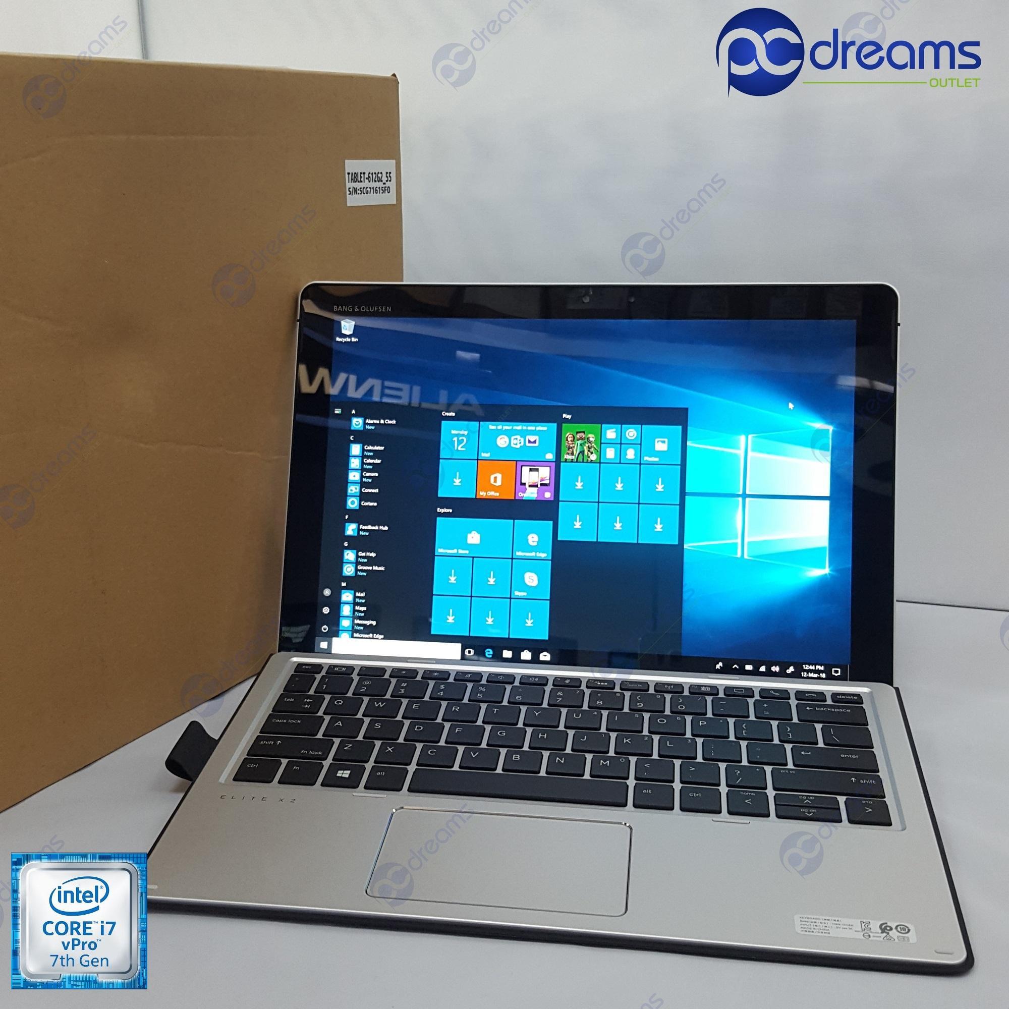 COMEX 2018! HP ELITE X2 1012 G2 with Travel Keyboard (Y5E19AV) i5-7200U/8GB/512GB PICe NVMe SSD [Premium Refreshed]