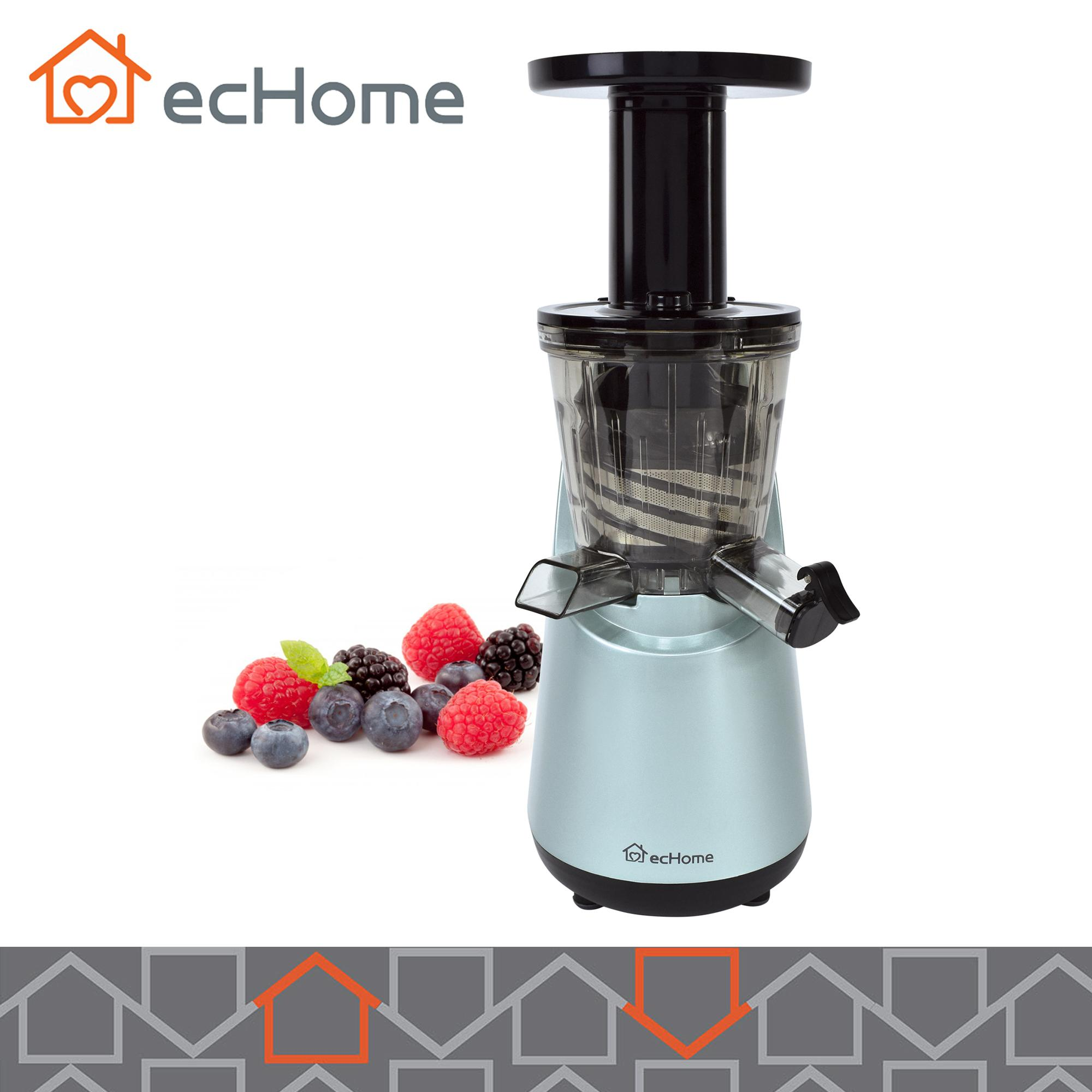 Echome Slow Juicer Fruit Vegetable Cold Press Juice Extractor