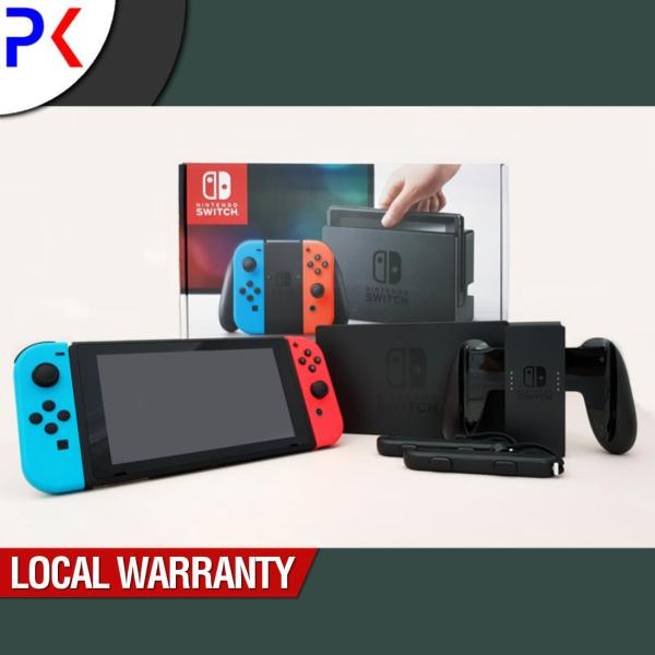 Nintendo Switch Console with Neon Blue/Red Joy-Con (ASIA)