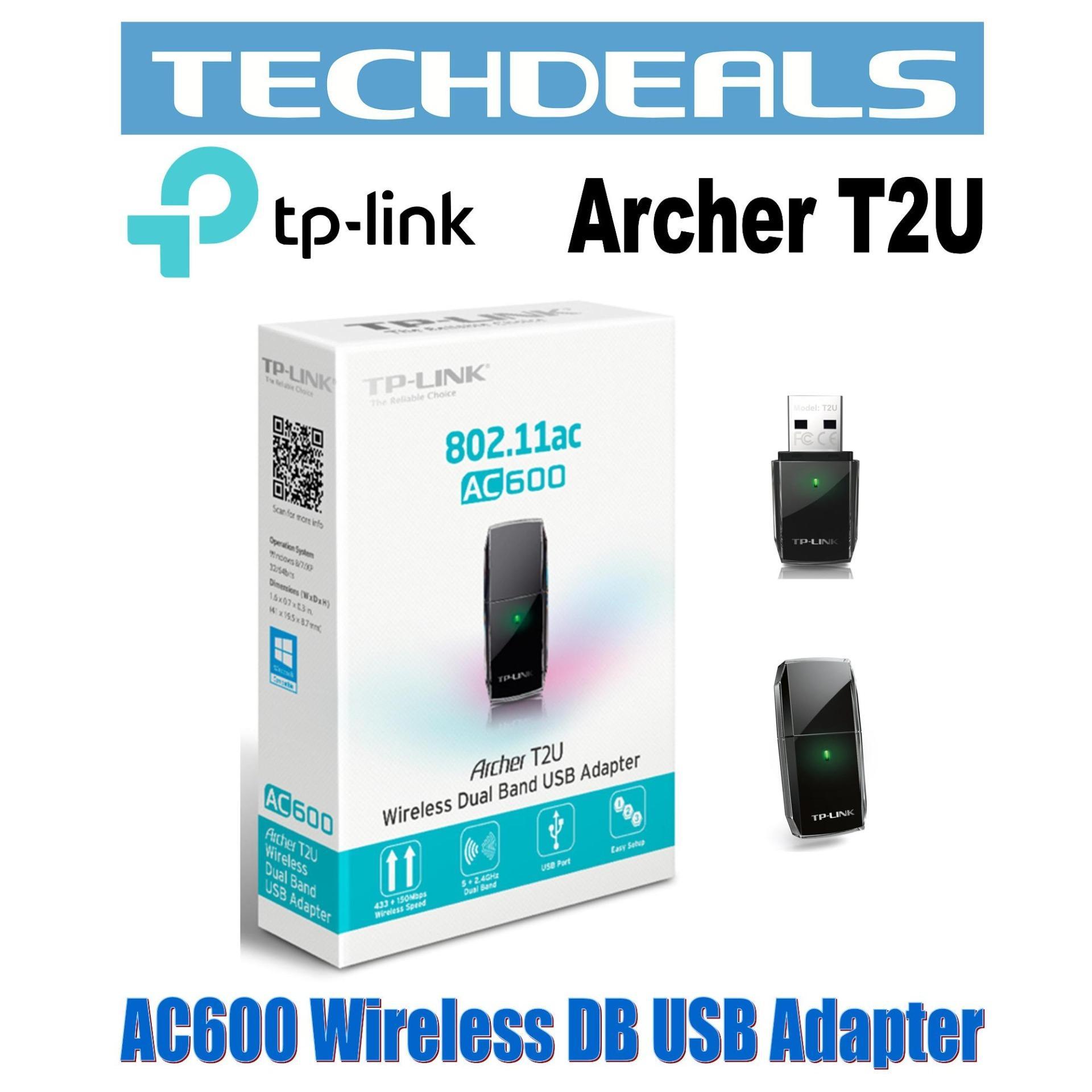 TP-Link Archer T2U AC600 Wi-Fi USB Adapter