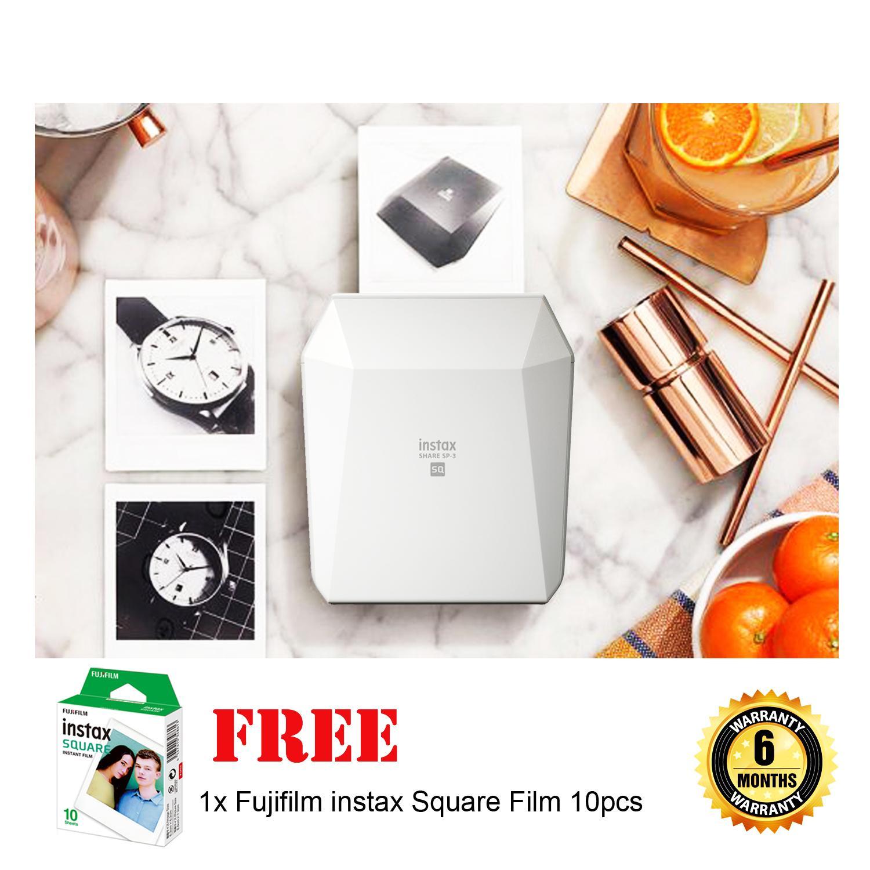 Buy Fujifilm Intax Camera Dslr Lazada X T20 Kit 18 55mm F28 4 R Lm Ois Black Xf 35mm F2 Sp2 Instax Share Sp 3 Square Printer White
