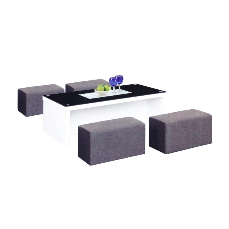 LIVING MALL_Ammar 2 Coffee Table + Tool_FREE DELIVERY