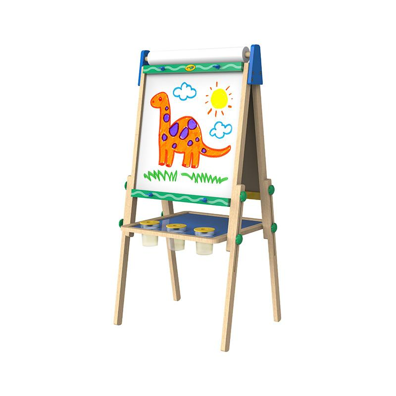 Crayola Kid's Wooden Art Easel