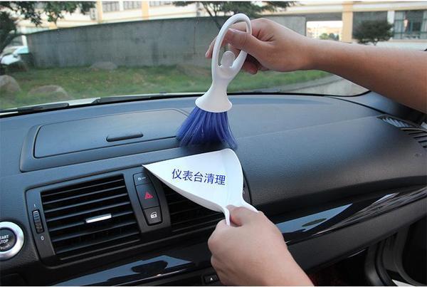 Vehicle Mini Brush & Dustpan By Hippomart.sg.
