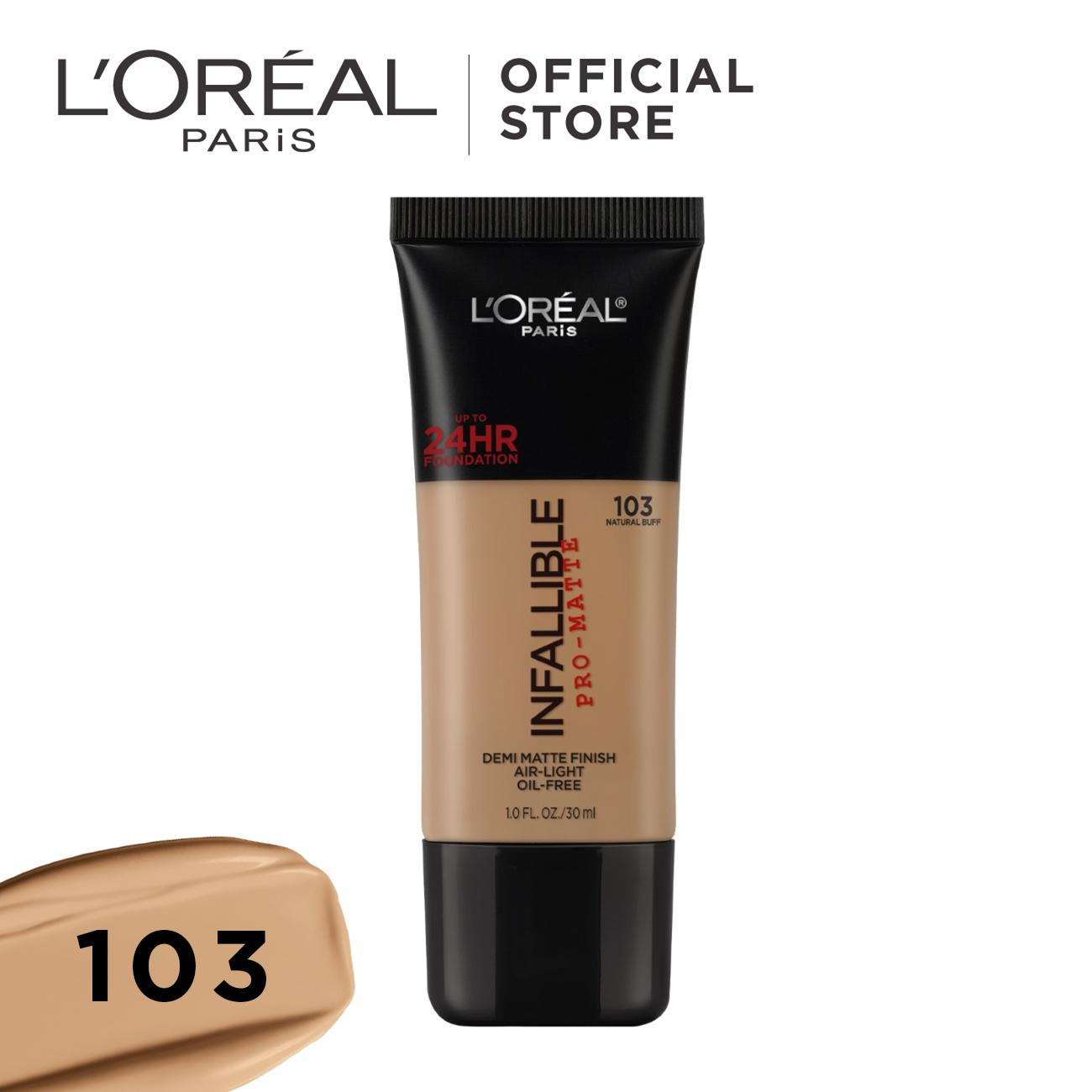 Infallible Pro-Matte Liquid Foundation (24h Long Wear) By Loréal Paris By Loreal Paris.