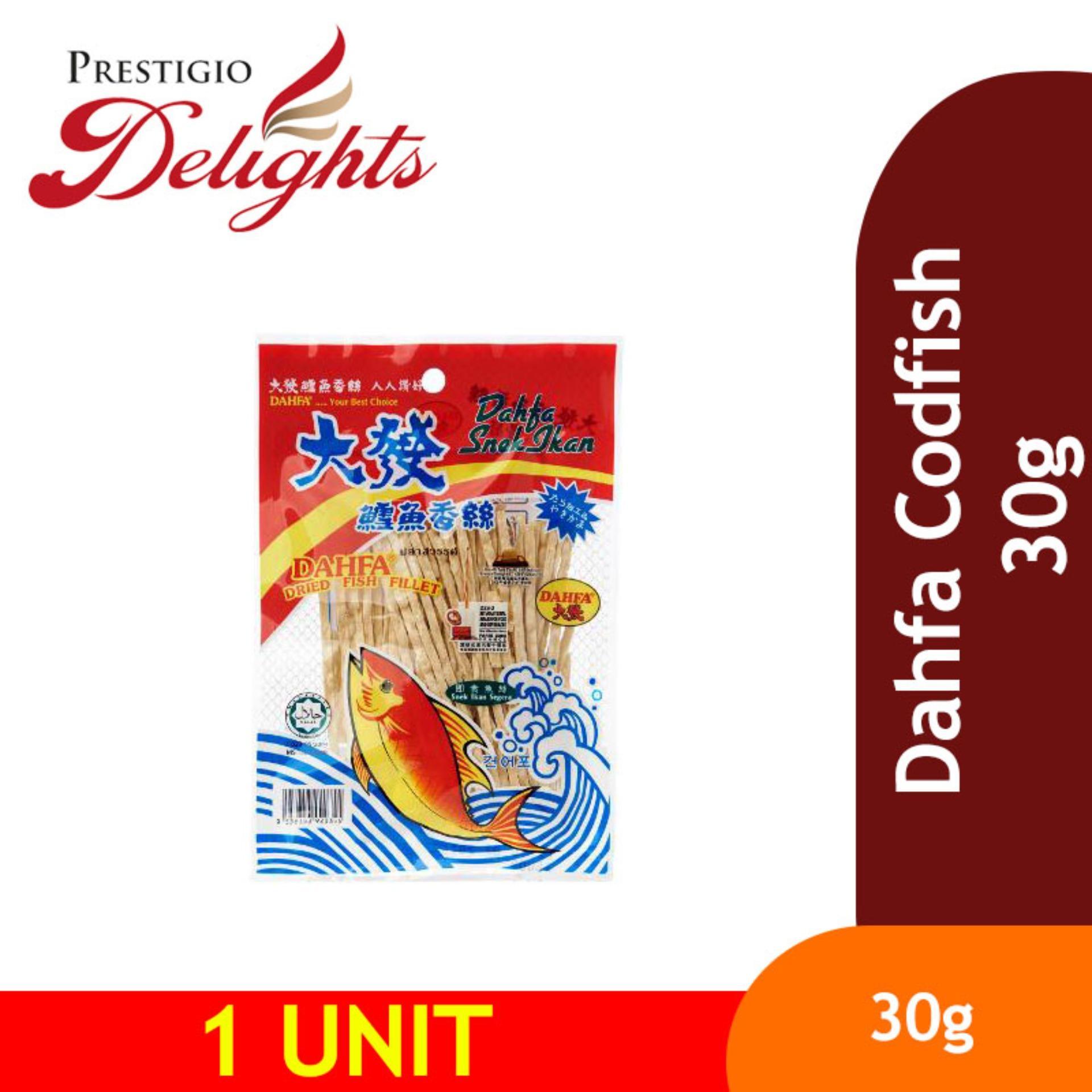Dahfa Codfish 30g By Prestigio Delights.
