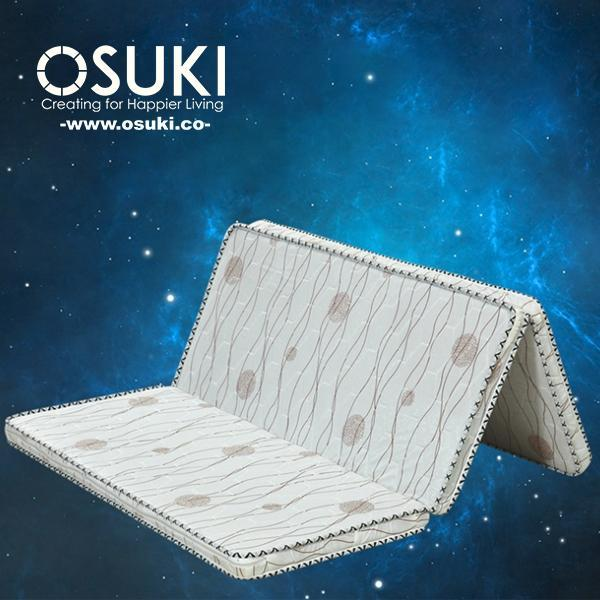 OSUKI Natural Coconut Fibre Foldable Single Mattress