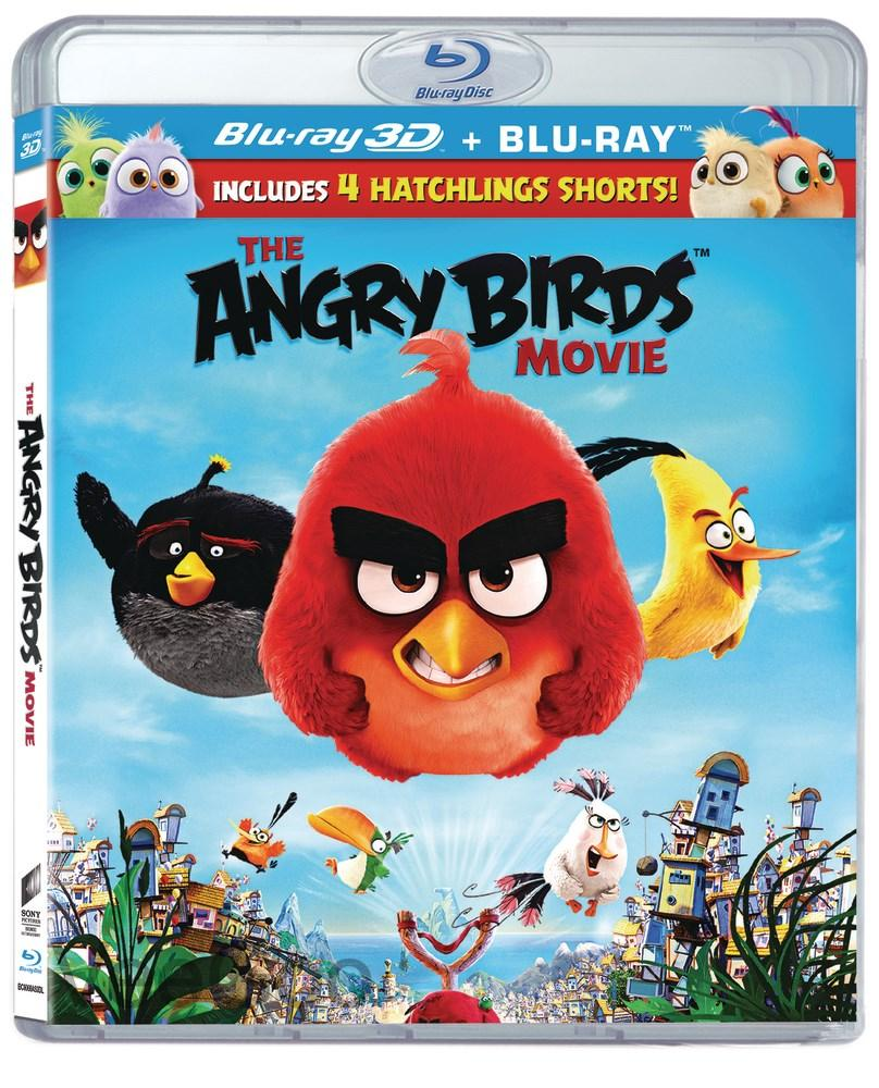THE ANGRY BIRDS MOVIE 3D + Blu-Ray (PG/RA)