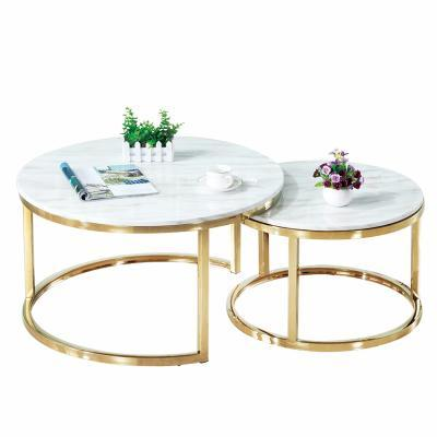 Scandinavian Marble Coffee Tea Table Simple Modern Premium