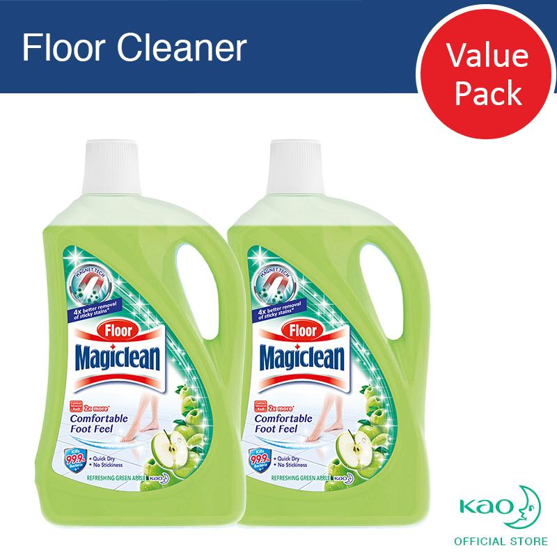 Floor Magiclean Green Apple 2l (set Of 2) By Kao Homecare.