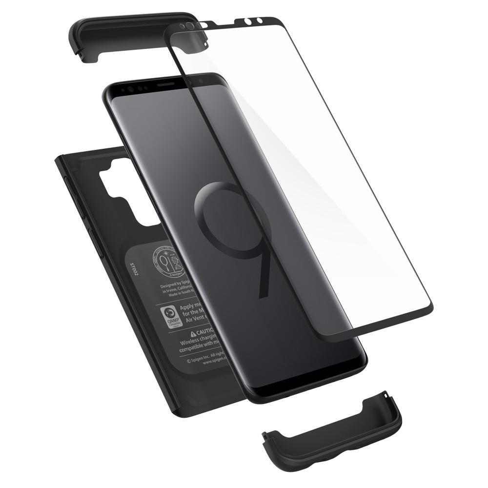 For Sale Spigen Galaxy S9 Plus Case Thin Fit 360
