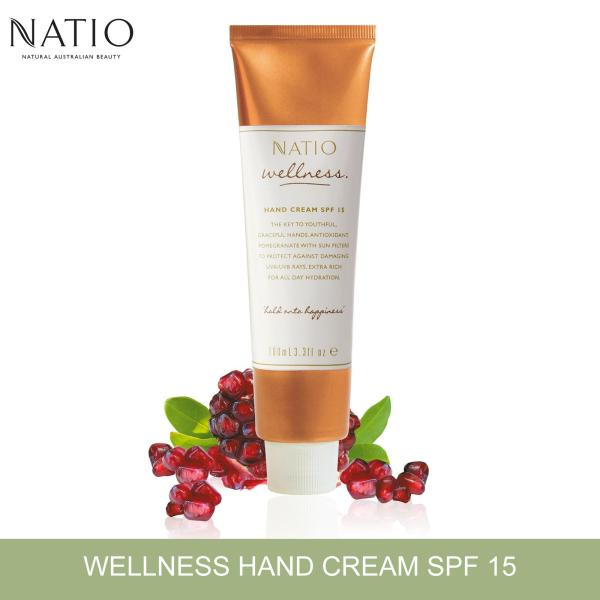 Buy Natio Wellness Hand Cream SPF15, 100ml Singapore