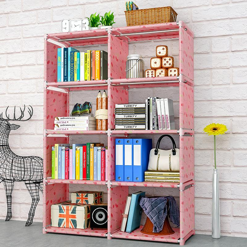 Modern students desk bookcase bookshelf