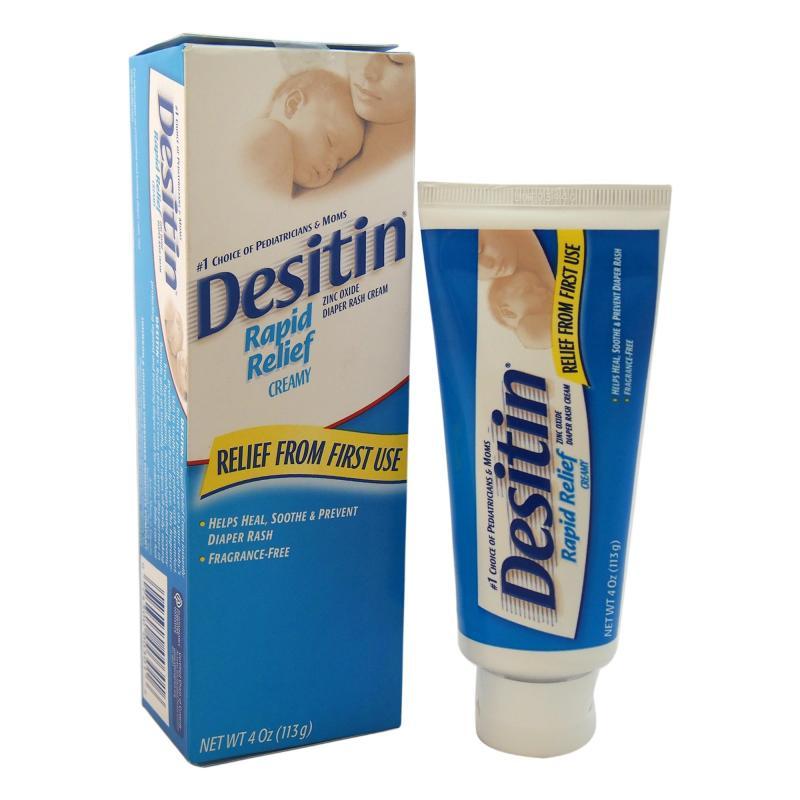 Buy Johnson & Johnson Desitin Rapid Relief Diaper Rash Cream - 4 oz Cream Singapore
