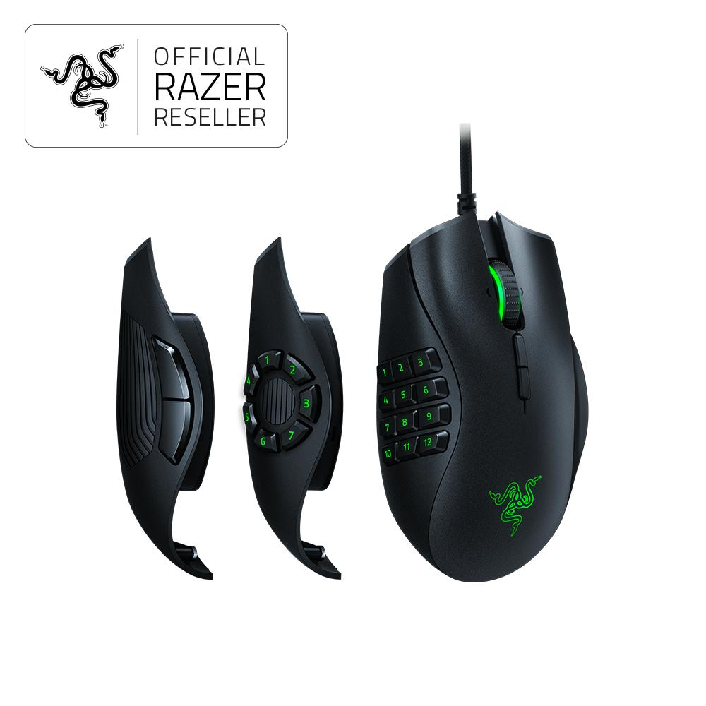 Razer Naga Trinity-Multicolor MMO Gaming Mouse