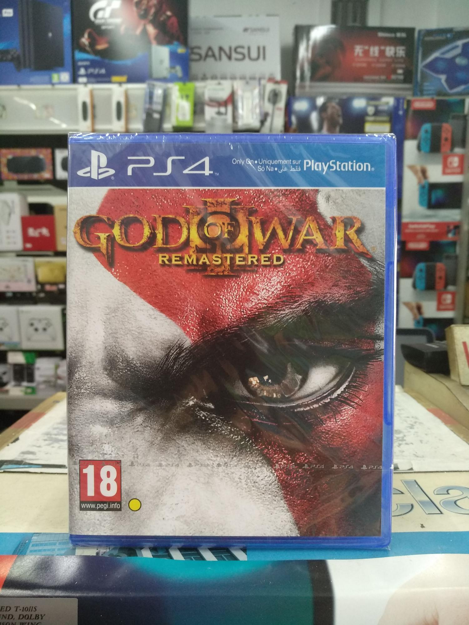 Ps4 God Of War 3 Remastered In Stock