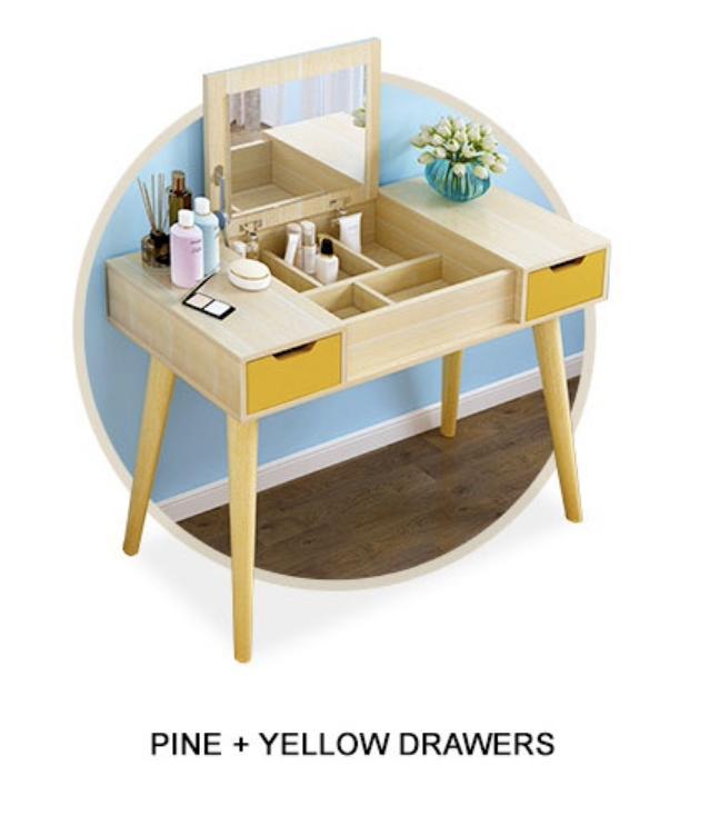 Modrito Dressing Table (Free Installation & 1 Year Warranty)