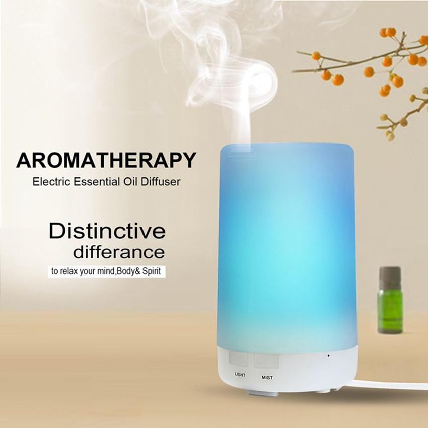 LED USB Color Change Aroma Air Humidifier Steam Oil Aromatherapy Diffuser