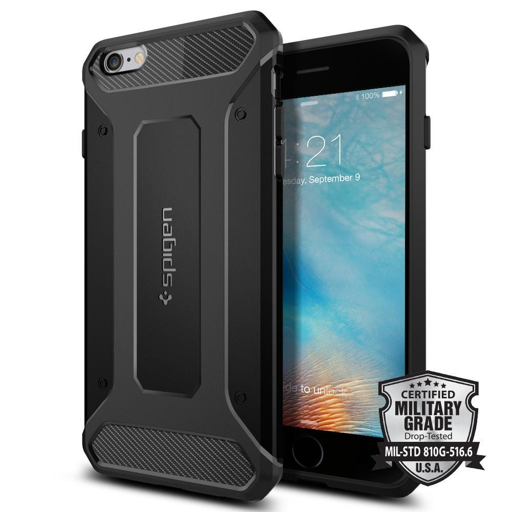 Who Sells Spigen Iphone 6S Plus 6 Plus Case Rugged Armor Black