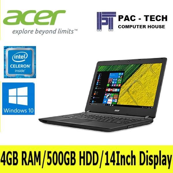 Buy Acer Aspire Es14 Es1 432 C9B6 14 Celeron N3350 4Gb 500Gb Dvdrw W10 Cheap On Singapore