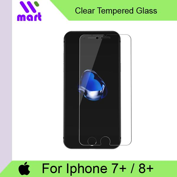 Tempered Glass Screen Protector (Clear) For Iphone 7 Plus / 8 Plus