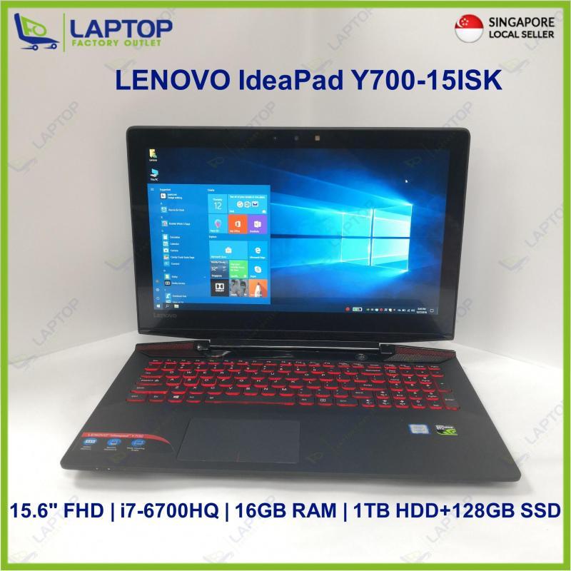 LENOVO IdeaPad Y700-15ISK (i7-6/16GB/1TB+128GB) @Original Warranty Gaming@ Preowned [Refurbished]