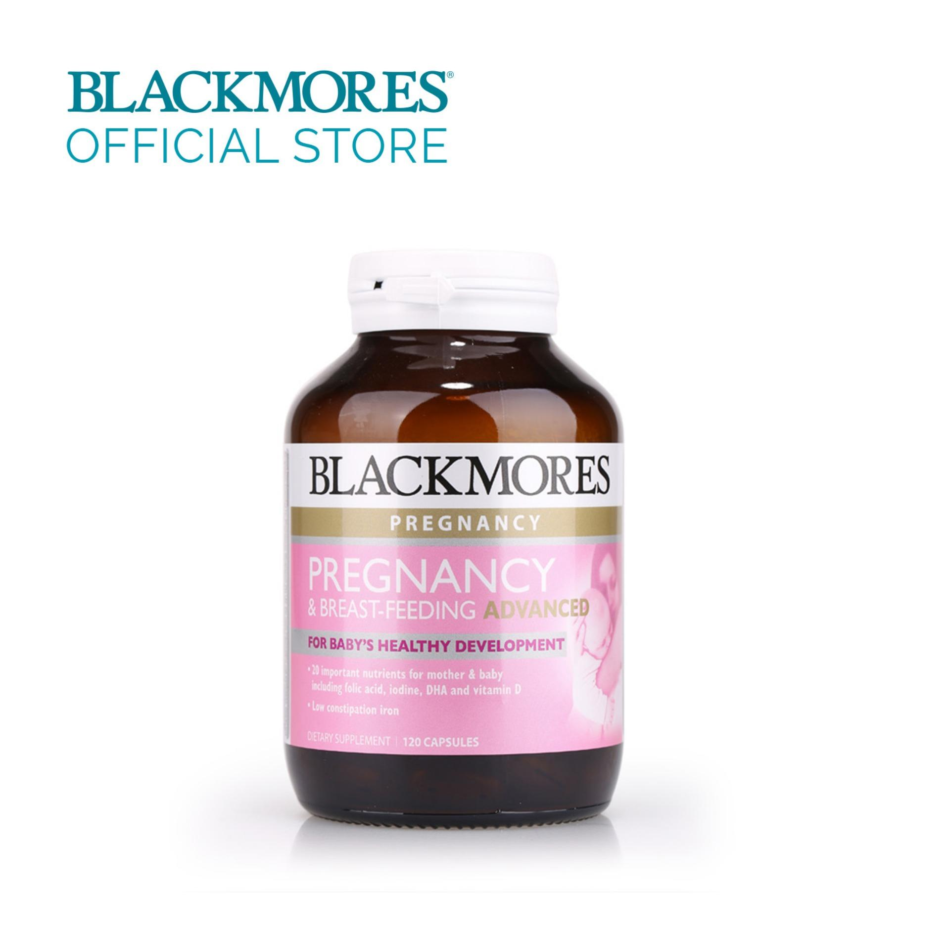 Blackmores Pregnancy And Breastfeeding Advanced 120caps By Blackmores Official Store.