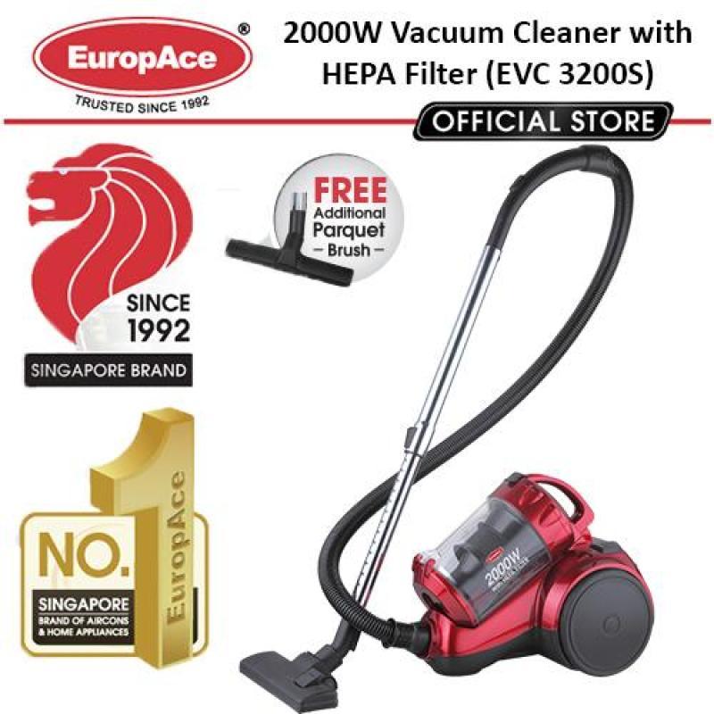 Europace 2000W Multi-Cyclone Vacuum Cleaner - FREE PARQUET BRUSH(WORTH $29.90) Singapore