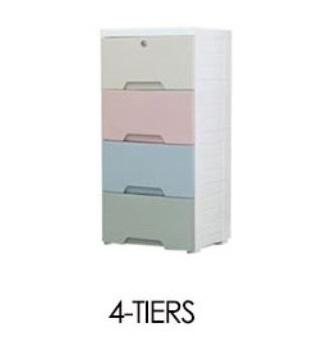 JIJI Modern Storage Drawers [L] & [XL] (FREE Installation) - Storage Drawer / Household / Bedroom Furniture (SG)