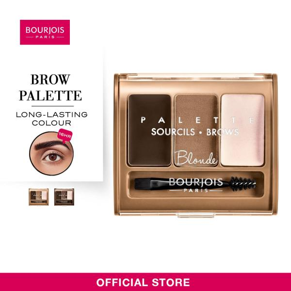 Buy Bourjois Brow Palette [Shades Available: Blonde  Brunette] 4.5g Singapore