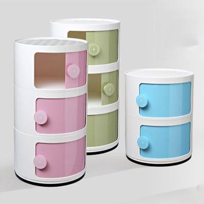 JIJI Vickae Storage Drawers (3 Tiers) (FREE Installation) - Plastic Drawer / Bedroom Furniture / Space Savers (SG)