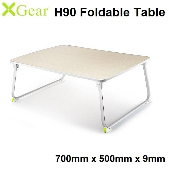 Xgear H90 (700 x 500 x 9mm) Foldable Laptop Table Multi-Purpose Bed Sofa Study
