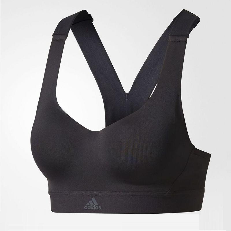 674387ee4e adidas Stronger For It Racer-Back Womens Bra - Black (BS1157)