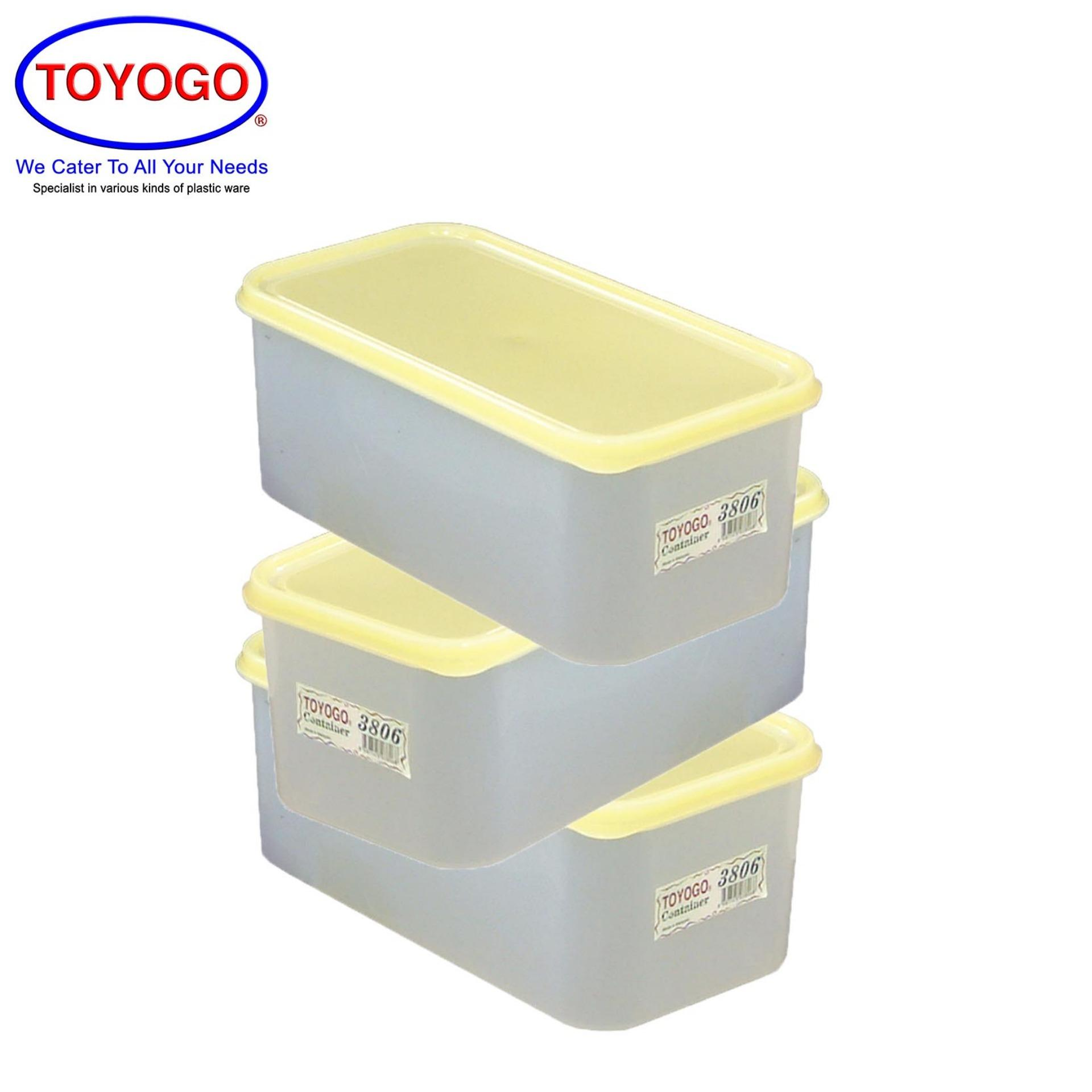 Toyogo Freezer Container (Bundle of 3) (3806)