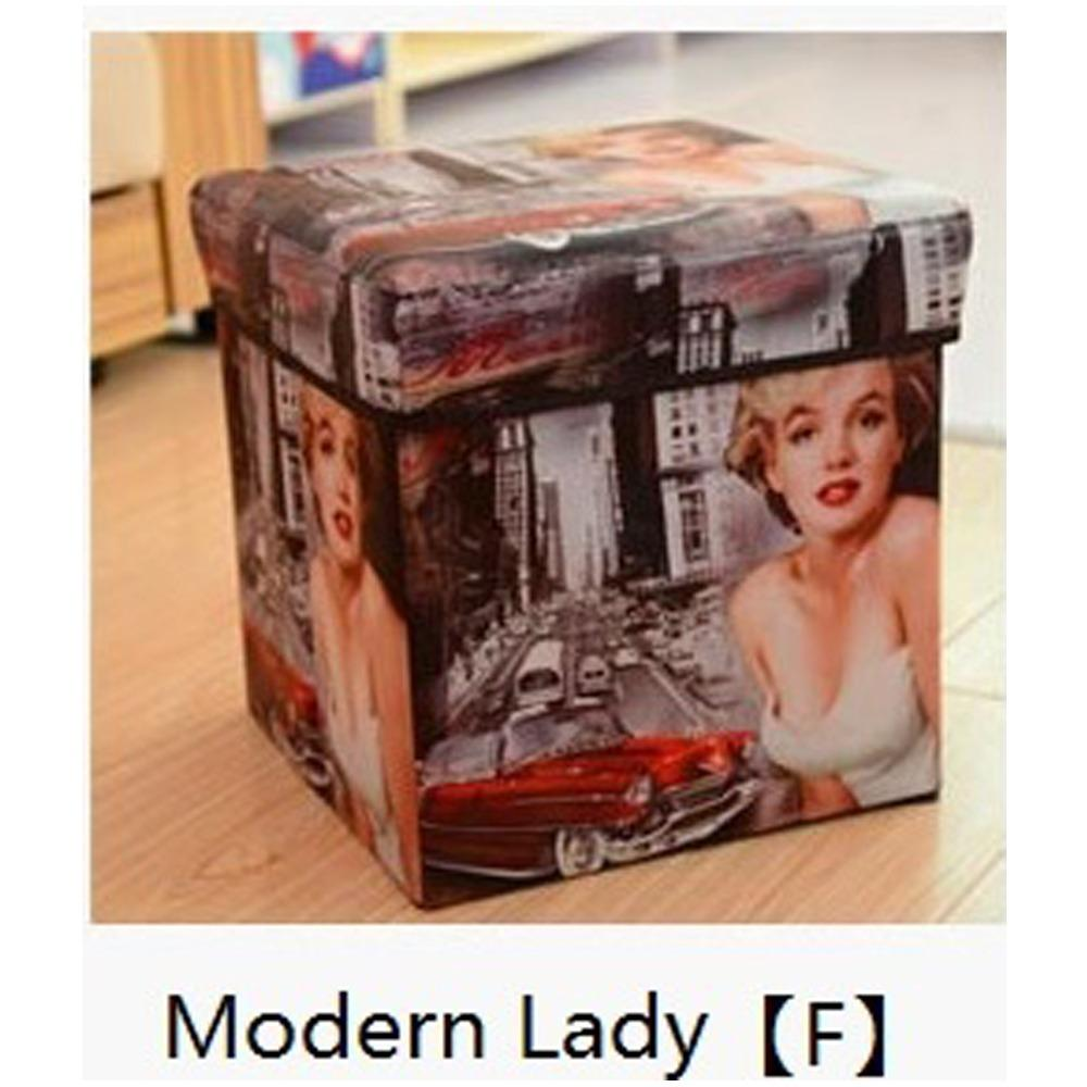 Jiji Stylish Foldable Storage Stool - 30cm / Benches / Furniture / Hallway Entry (sg) By Jiji.