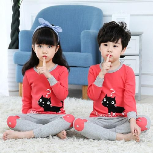 Big Kids Pyjamas /children Family Couple Pyjamas Set Up To Size 180cm Boys [pjn07] By Jolly Sg.