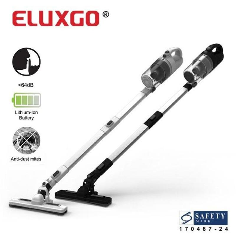 Eluxgo Anti Dust Mite Cordless Bed Vacuum Cleaner with Floor Brush [Singapore Brand] Singapore
