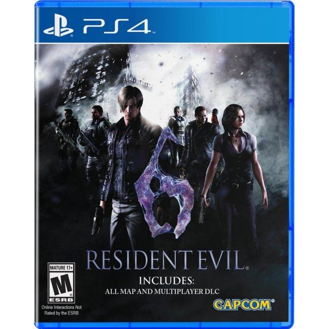 Ps4 Resident Evil 6 Us R1 M18 Coupon