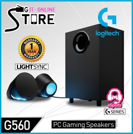 Logitech LIGHTSYNC PC Gaming Speakers G560